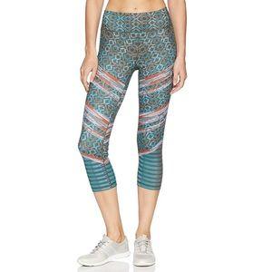 Prana Roxanne Capri Print Leggings Pants